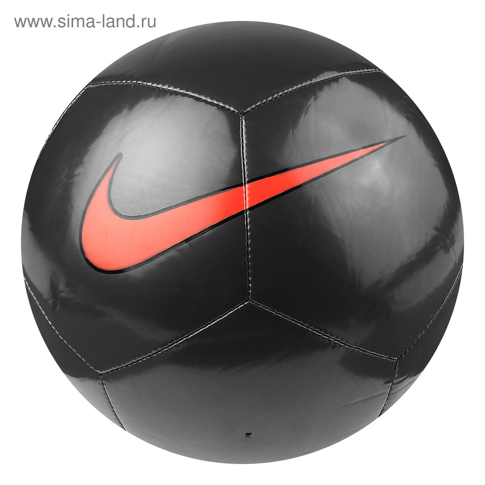 ab14bed8 Мяч футбольный NIKE Pitch Training, SC3101-008, размер 5, 12 панелей ...