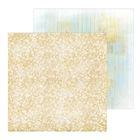 Фотофон двусторонний «Блестящее золото», 45 × 45 см, картон, 100 г/м