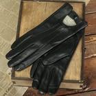 Перчатки женские, размер 11.5, с подкладом, цвет чёрный