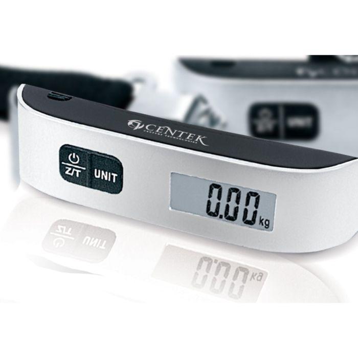 Весы багажные Centek CT-2492, до 50 кг, серый