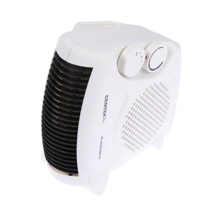 Тепловентилятор Centek CT-6001, 2000 Вт, вентиляция без нагрева, белый