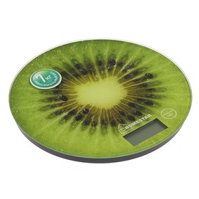 Electronic kitchen scales HOMESTAR HS-3007, up to 7 kg, glass, green.