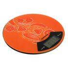 Весы кухонные электронные HOMESTAR HS-3007, до 7 кг, стекло, оранжевые