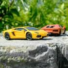 """Машина радиоуправляемая """"Lamborghini Aventador"""", масштаб 1:24, работает от батареек, свет, МИКС, mz 27021"""
