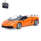 "Машина радиоуправляемая ""Lamborghini Huracan"", масштаб 1:14, работает от аккумулятора, свет, МИКС, mz 2036"