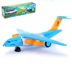 Самолёт «Авиалайнер', работает от батареек, световые и звуковые эффекты