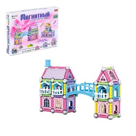 "Designer magnetic ""Build your house"", 150 parts"