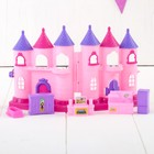 "Castle for dolls ""the Kingdom"" sound effects, with accessories"