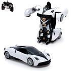Робот-трансформер радиоуправляемый «Автобот», работает от аккумулятора, масштаб 1:14, МИКС mz 2339P