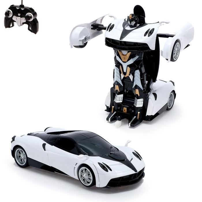 """Робот-трансформер радиоуправляемый """"Автобот"""", с аккумулятором, масштаб 1:14, МИКС mz 2339P"""