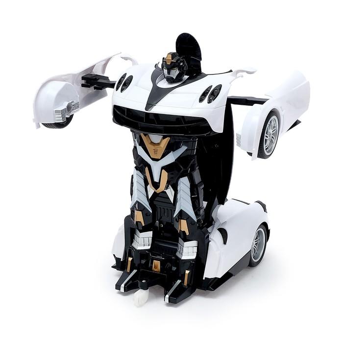 Робот-трансформер радиоуправляемый «Автобот», работает от аккумулятора, масштаб 1:14, МИКС mz 2339P - фото 8375711