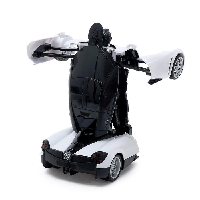 Робот-трансформер радиоуправляемый «Автобот», работает от аккумулятора, масштаб 1:14, МИКС mz 2339P - фото 8375713
