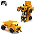 Робот-трансформер радиоуправляемый «Стройбот», работает от аккумулятора, масштаб 1:14 mz 2821P