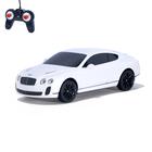 """Машина радиоуправляемая """"Bentley Continental"""", масштаб 1:24, работает от батареек, свет , МИКС, mz 27040"""