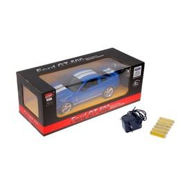 "Машина радиоуправляемая ""Ford Shelby Mustang"", масштаб 1:14, работает от аккумулятора, свет, МИКС, mz 2170"