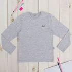 """Джемпер для девочки """"Школьная пора"""", рост 122 см (62), цвет светло-серый ДДД885809"""