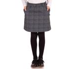 """Юбка для девочки """"Школьная пора"""", рост 146 см (76), цвет серый"""