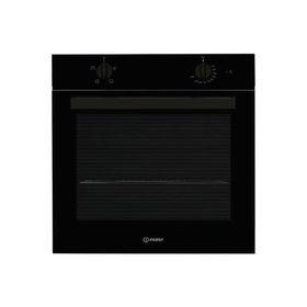 Духовой шкаф Indesit IFW 6220 BL, электрический, 71 л, откидной гриль, подсветка, чёрный