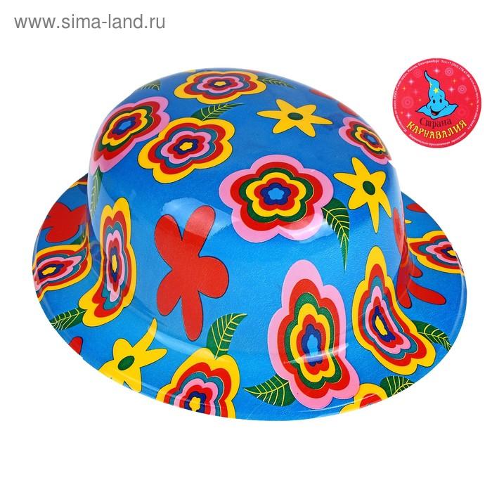 """Карнавальная шляпка """"Лето - разные цветочки"""""""