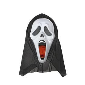Карнавальная маска 'Крик' с языком Ош