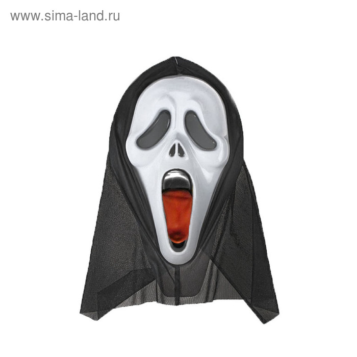 """Carnival mask """"Scream"""" with the language"""