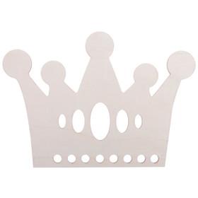 "Blank wooden ""Crown"", 28.5 x 20 x 0.4 cm"