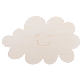 "Blank wooden ""Merry cloud"", 28 x 17.5 x 0.4 cm"