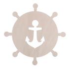 """Заготовка деревянная """"Морские приключения"""", 20 х 20 х 0,4 см"""