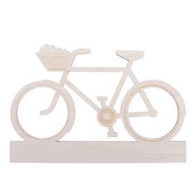 "Blank wooden ""Cycling"", 28 x 19 x 0.4 cm"