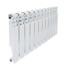 Радиатор биметаллический STI, 500х80 мм, 12 секции Ош
