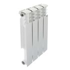 Радиатор алюминиевый STI, 500х80, 4 секции