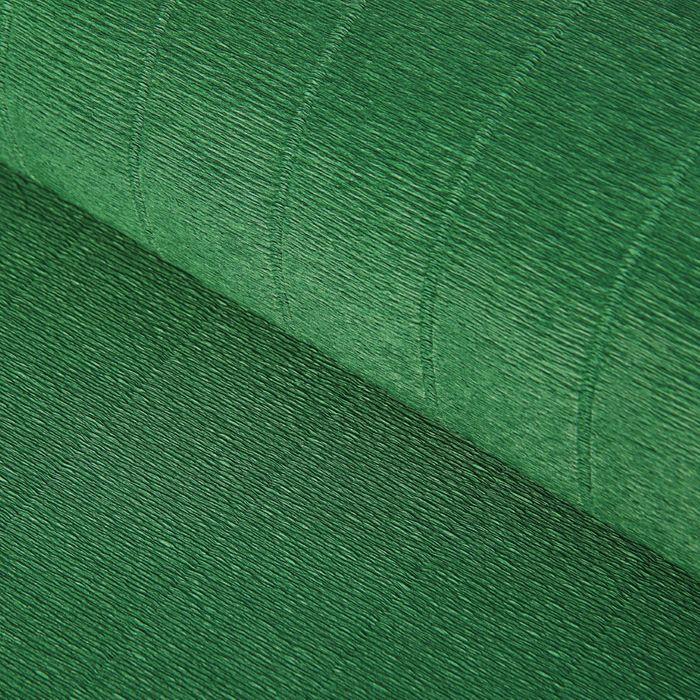 "Бумага гофрированная, 561 ""Тёмно-зелёная"", 0,5 х 2,5 м - фото 1732358"
