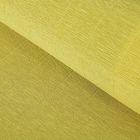 """Бумага гофрированная, 579 """"Жёлтая горчица"""", 0,5 х 2,5 м"""