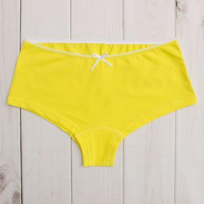 Трусы для девочки, рост 170 см (72), цвет жёлтый 344-16