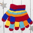 """Перчатки детские Collorista """"Пальчики"""", размер 18, цвет красный"""
