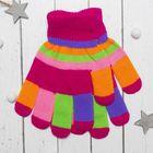 """Перчатки детские Collorista """"Пальчики"""", размер 22 (р-р произв. 11), цвет розовый"""