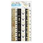 Наклейка‒тесьма «Золотой Новый Год», 10,5 х 21 см