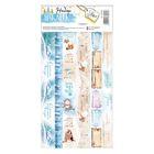 Наклейка‒тесьма «Снежный сюрприз», 10,5 х 21 см