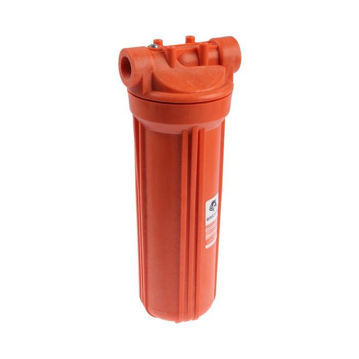 """Корпус для фильтра Unicorn 10"""" FH2P 3/4 HOT, для горячей воды, внутренняя резьба, 3/4"""""""