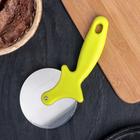 Нож для пиццы Доляна «Наклон», 20,5 см, цвет МИКС - фото 308029042