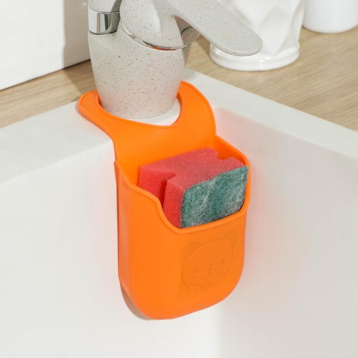 """Подставка для губки """"Симплекс"""" 20х9х4,5 см, цвета МИКС"""