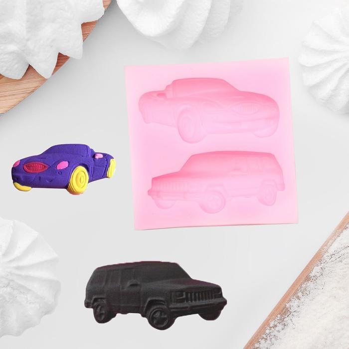 Молд силиконовый «Авто», 6,5×6,5 - фото 308041700