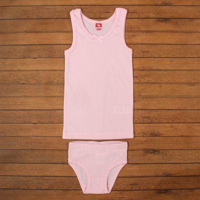 Комплект для девочки (майка, трусы), рост 92 см, цвет светло-розовый CAK 3328