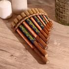"""Musical instrument """"Flute"""" 30х5х18 cm MIX"""