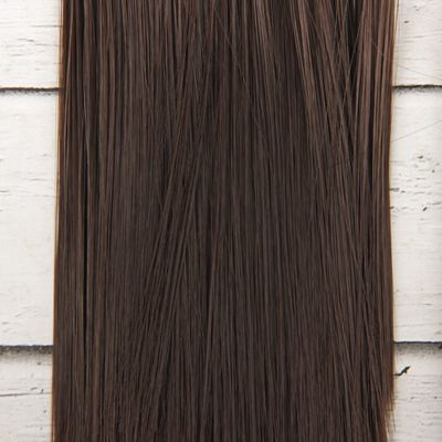 Волосы - тресс для кукол «Прямые» длина волос: 15 см, ширина:100 см, цвет № 10