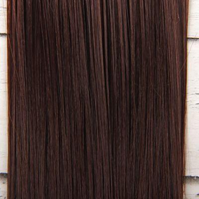 Волосы - тресс для кукол «Прямые» длина волос: 15 см, ширина: 100 см, цвет № 6А