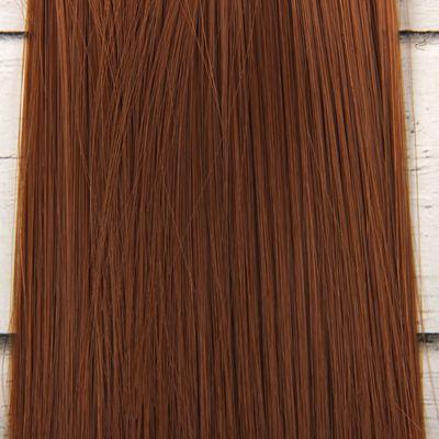 Волосы - тресс для кукол «Прямые» длина волос: 15 см, ширина: 100 см, цвет № 30А
