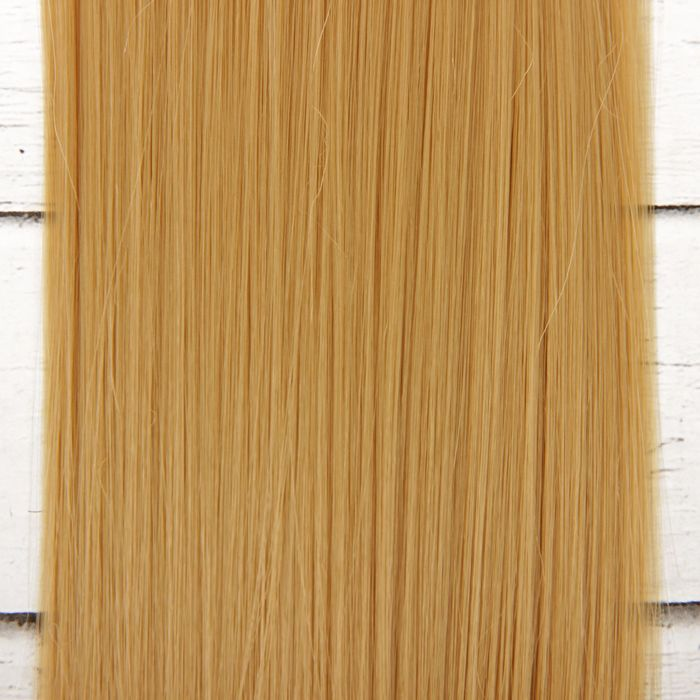 """Волосы - тресс для кукол """"Прямые"""" длина волос 25 см, ширина 100 см, цвет № 15"""