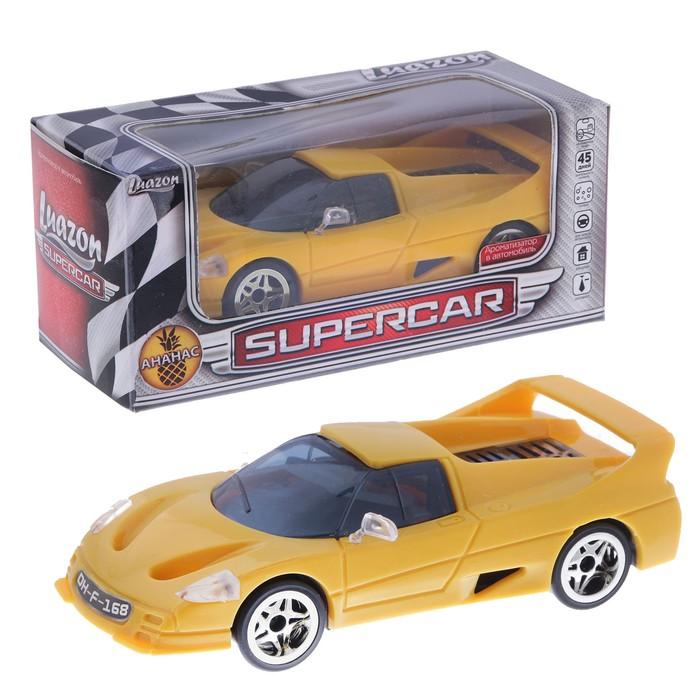 "Ароматизатор в автомобиль ""Luazon, Supercar"", ананас"