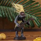 """Сувенир дерево """"Абориген-гитарист"""" 16х10х8 см"""